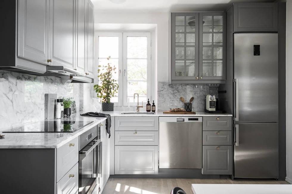 современные кухни дизайн для маленькой площади