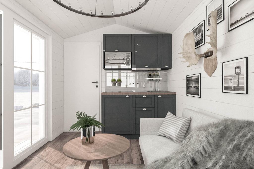 интерьеры кухонь в современном стиле фото