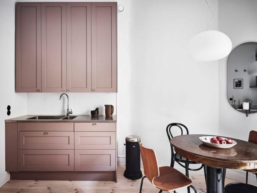 варианты покраски кухни