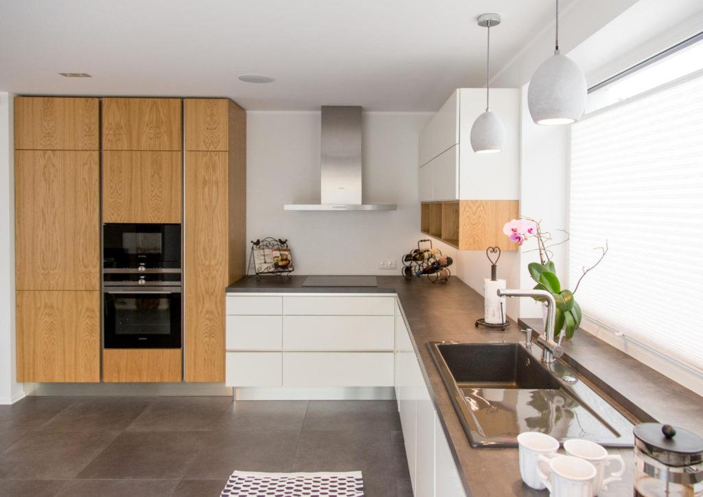 кухни минимализм и модерн