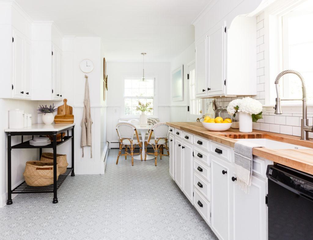 ремонт пола на кухне