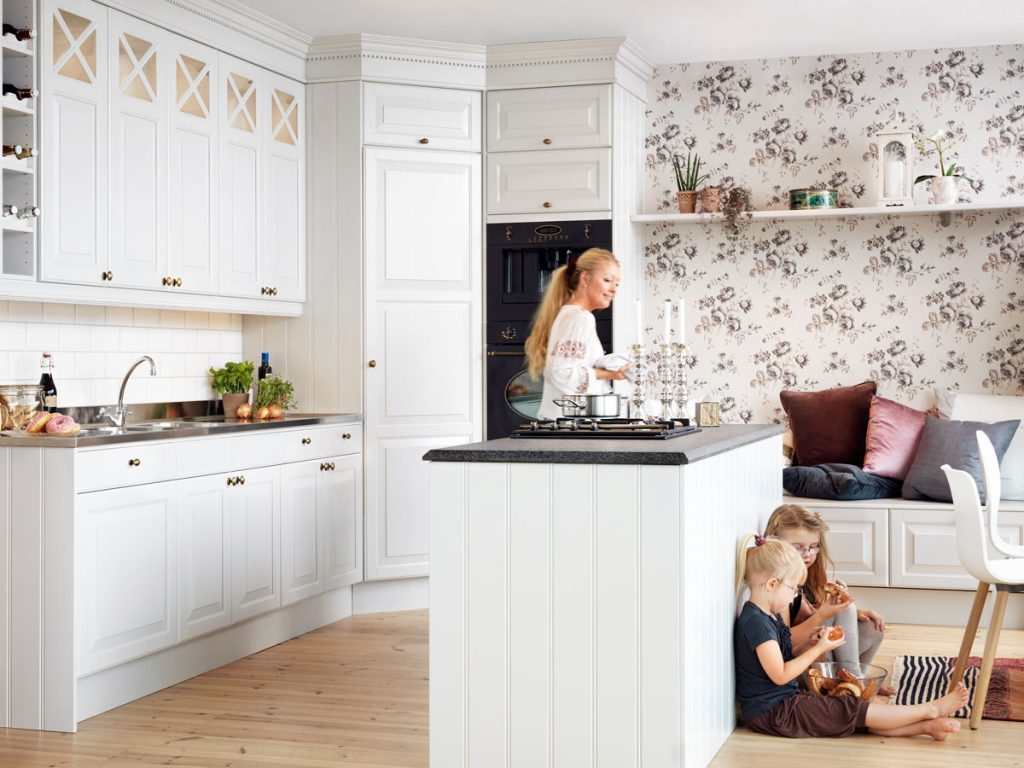 фото современных кухонь в частном доме