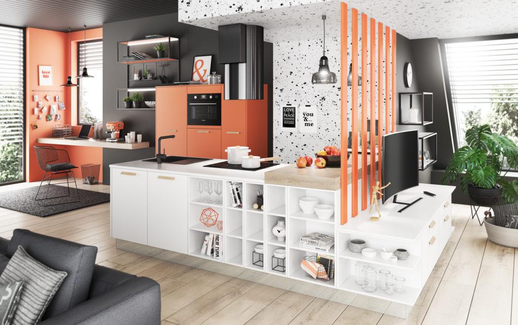 фен шуй кухни гостиной