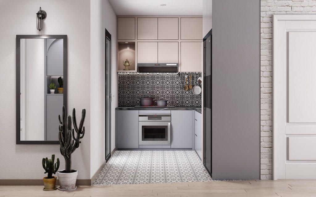 цвета в интерьере кухни