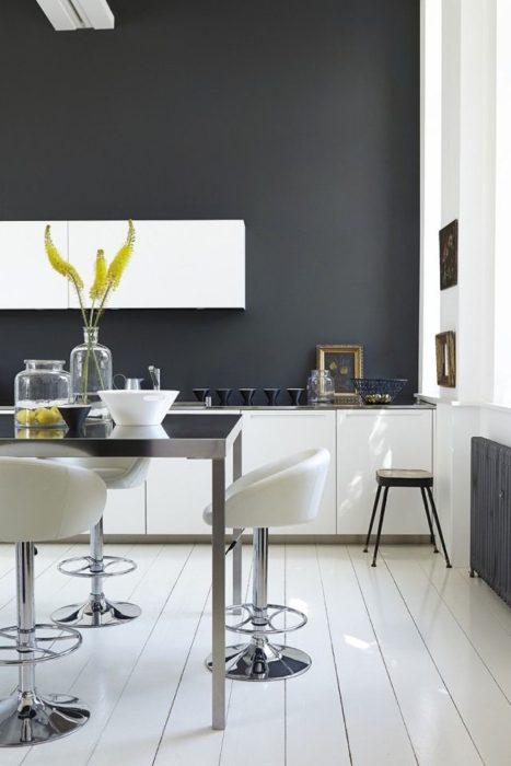 покраска кухни краской