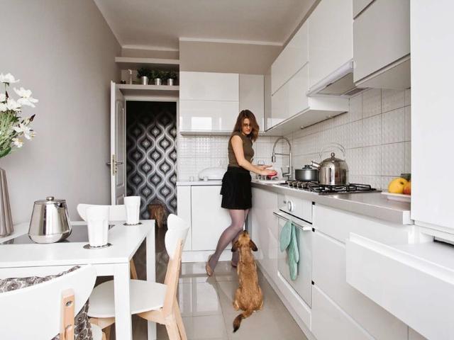 выбрать цвет маленькой кухни