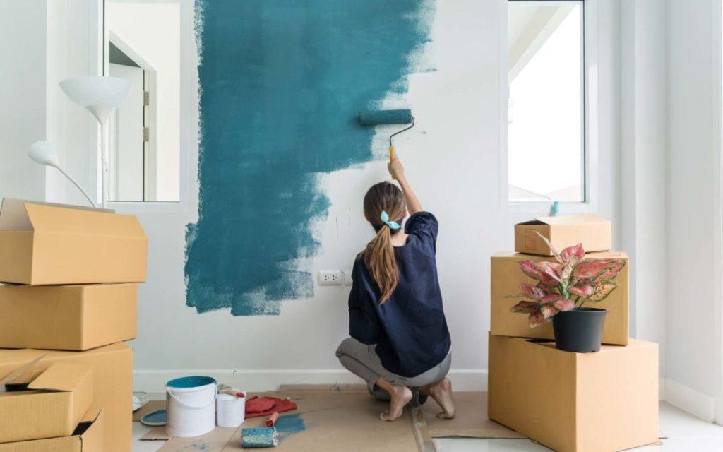 какими цветами покрасить стены