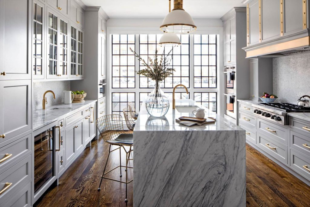 красивый дизайн кухни фото