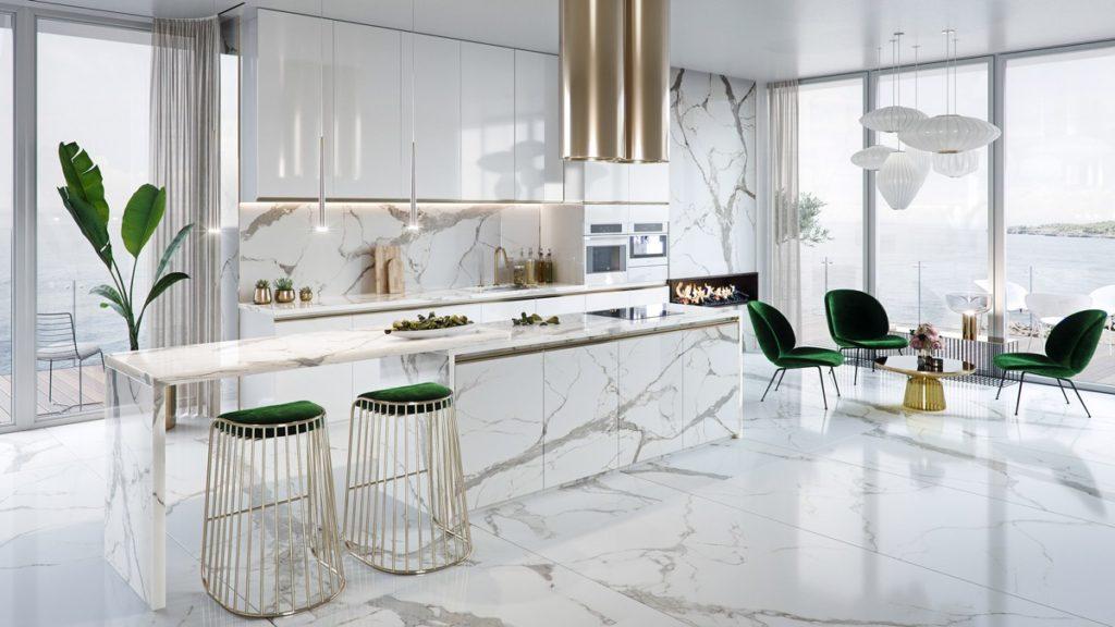 красивая на кухню