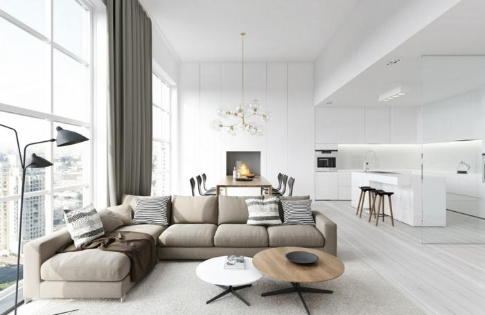 фото кухни гостиной в квартире