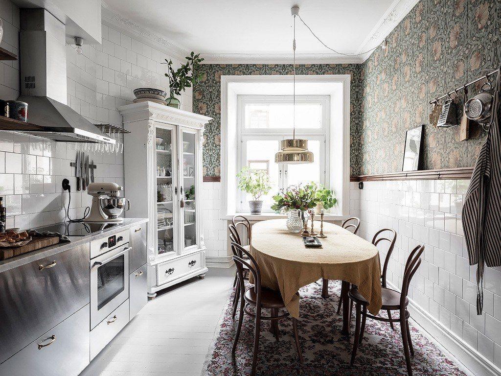 маленький кухня дизайн