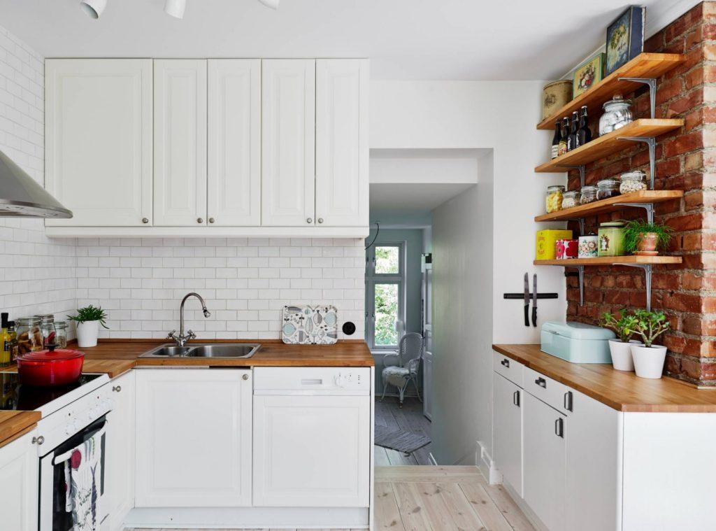 реставрация деревянной кухни