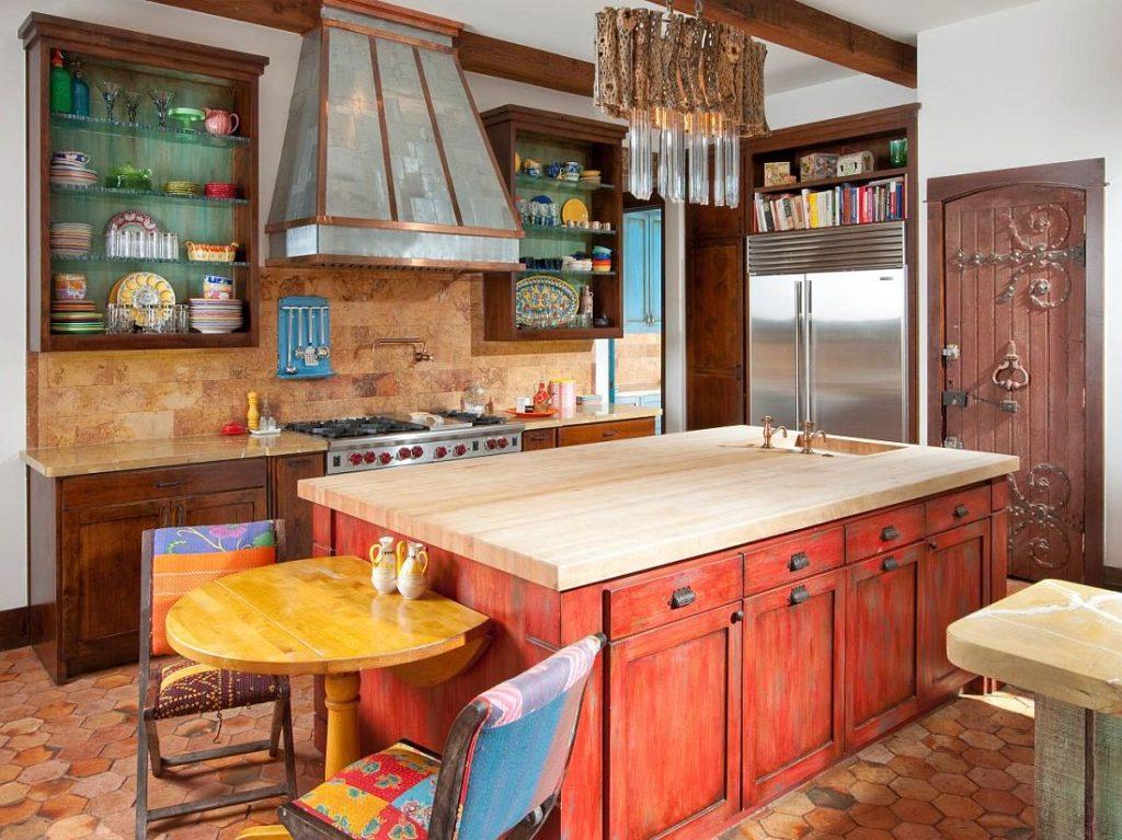 цвет кухни сочетание цветов фото