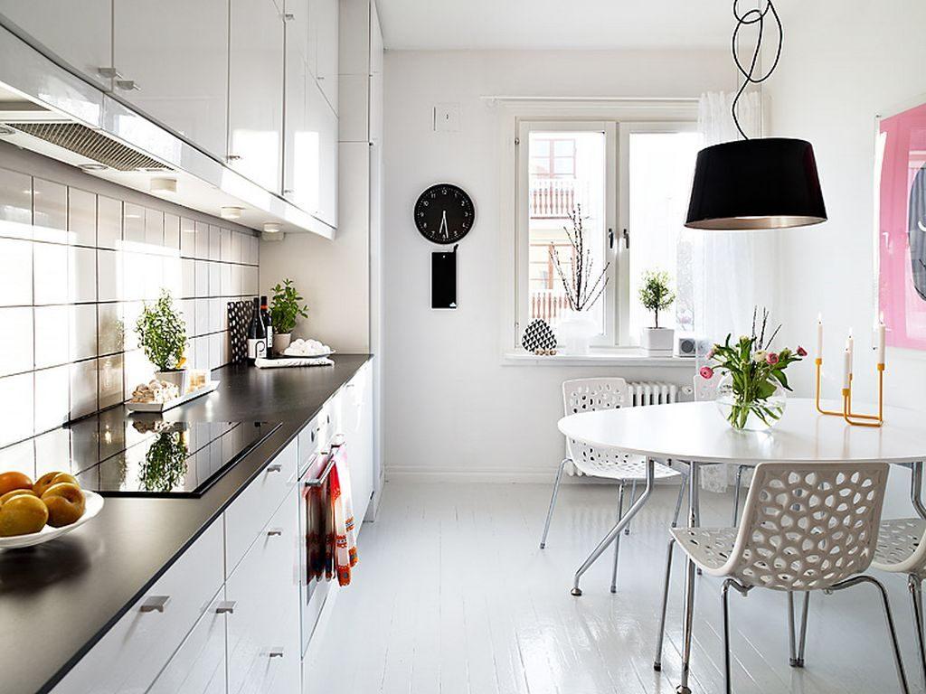 расстановка кухни в квартире