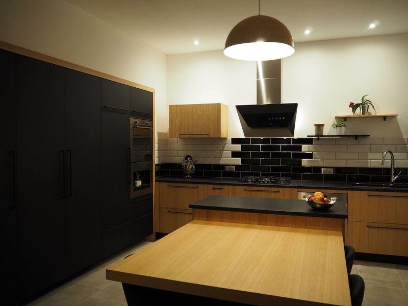 кухня под цвет дерева
