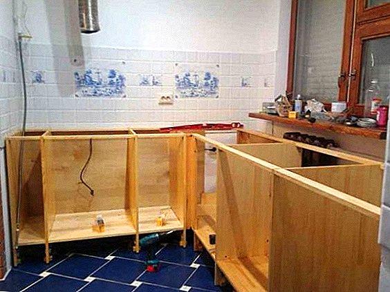 собрать кухню своими руками