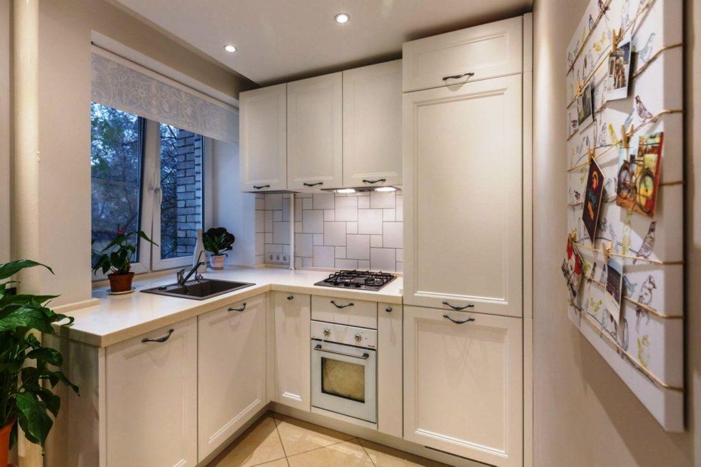 стены кухни хрущевка