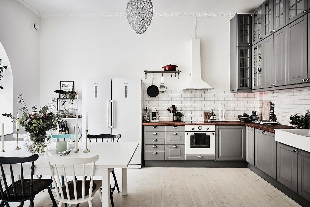кухни реальные квартиры