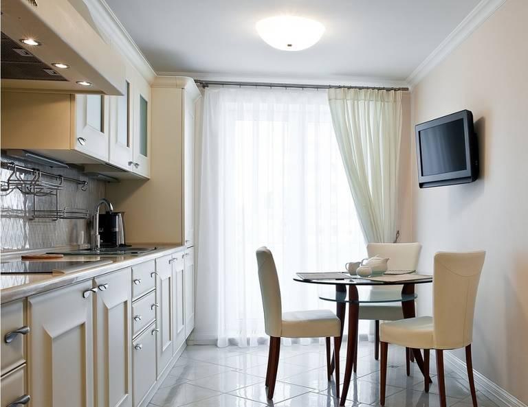 кухня обои шторы на кухню на одну сторону