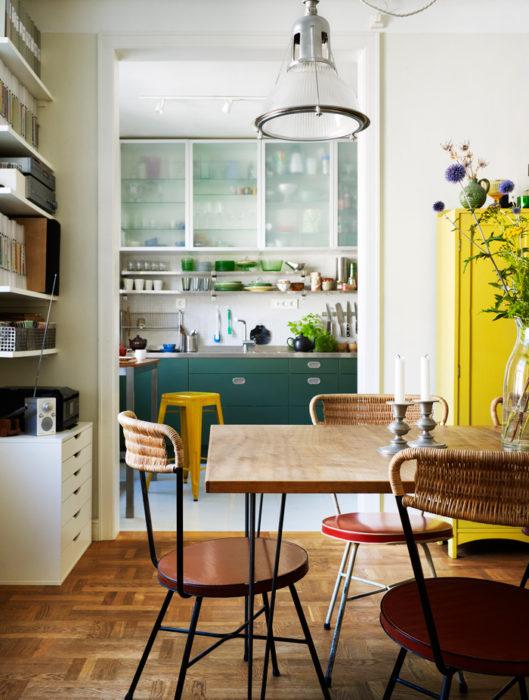 как подобрать цвет кухни