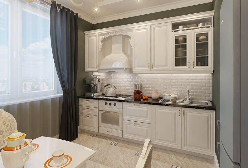 стиль кухни ыв частном доме