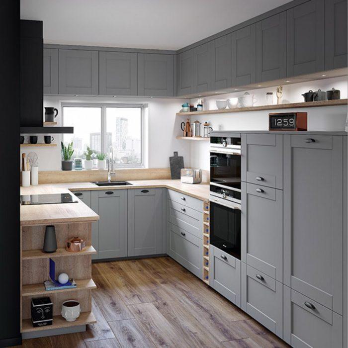 как обновить деревянную кухню
