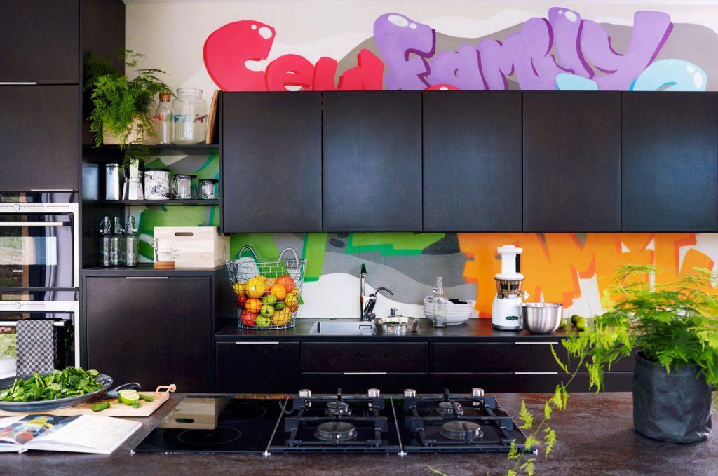 какими цветами покрасить кухню