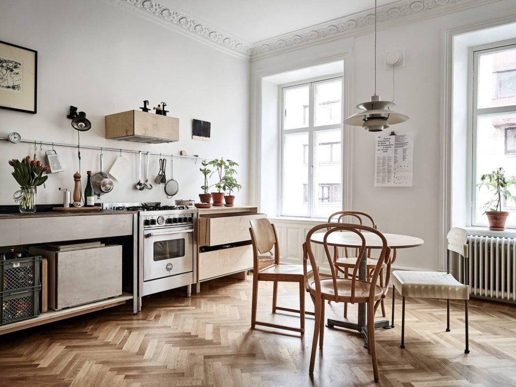 фото кухни в современном стиле в квартире