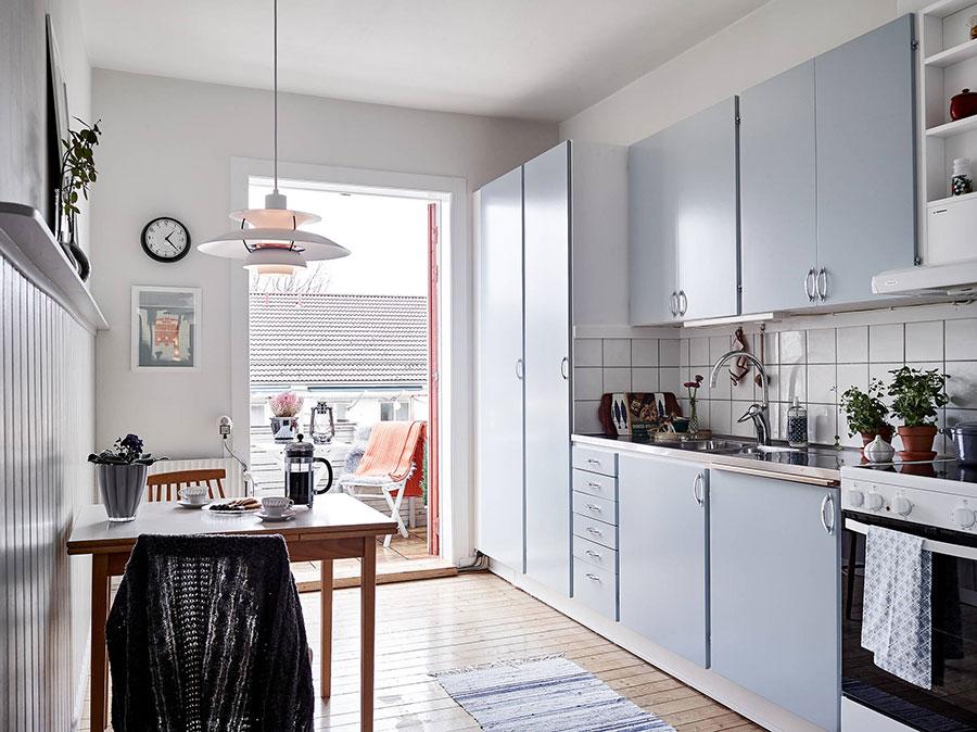 планировка кухонной мебели