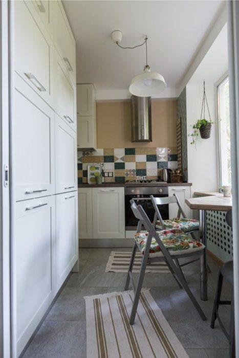 кухонный кухня маленькая фото