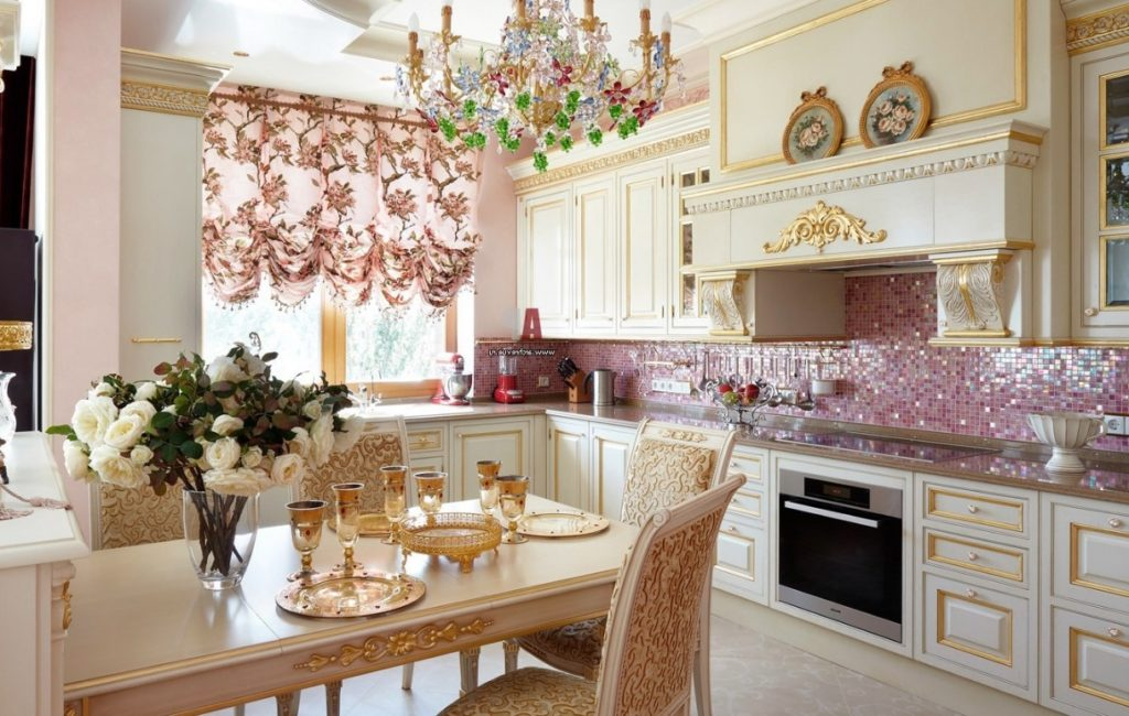 кухня в стиле провансв