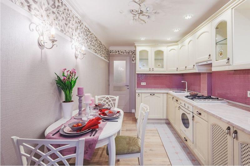 гарнитуры для маленьких кухонь фото хрущевка
