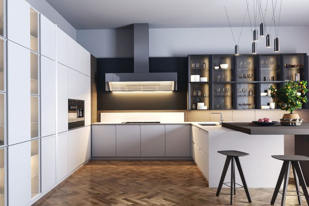 кухня современный стиль