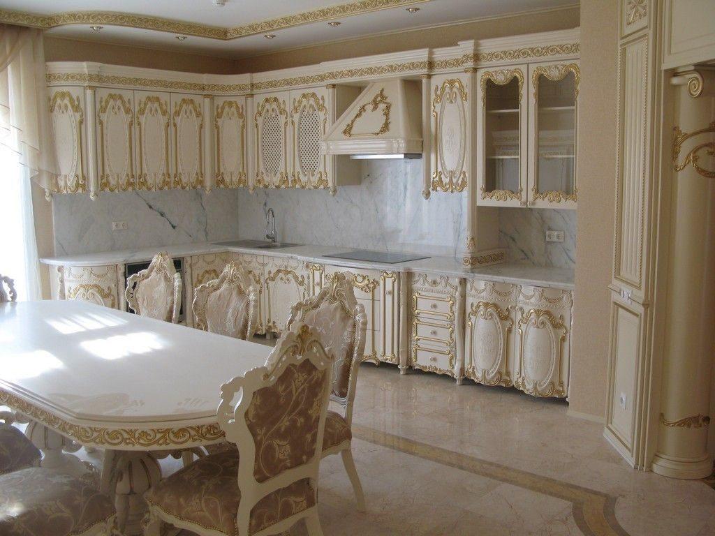 кухня барокко мебель