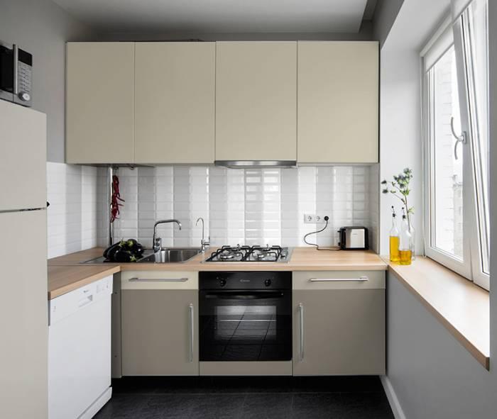 дизайн кухни 5 м хрущевка