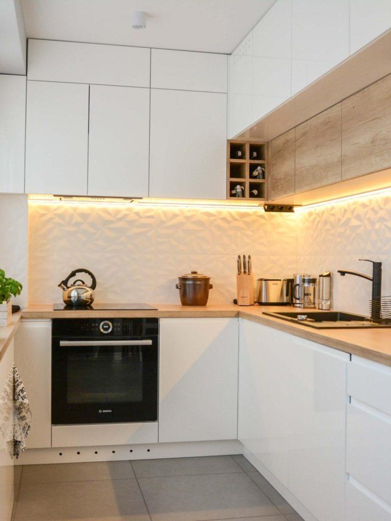 ремонт квартир мебель в кухне