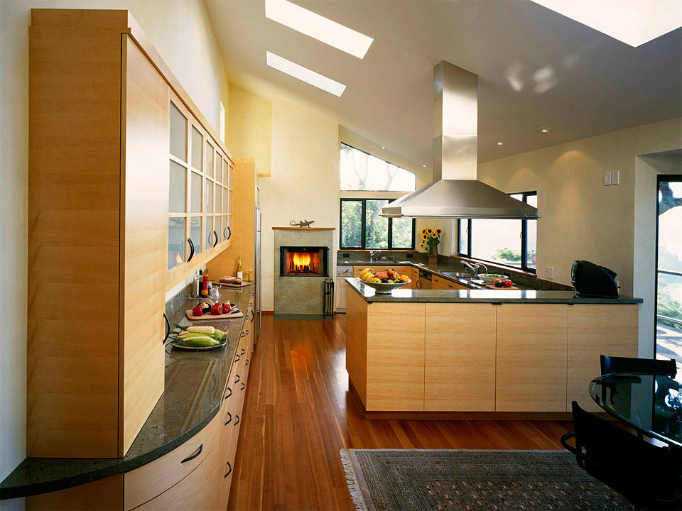 установка кухни в частном доме