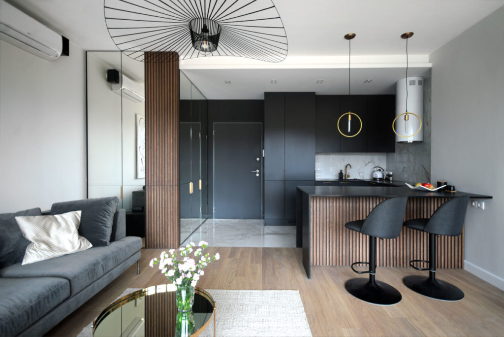 красивый ремонт кухни в квартире