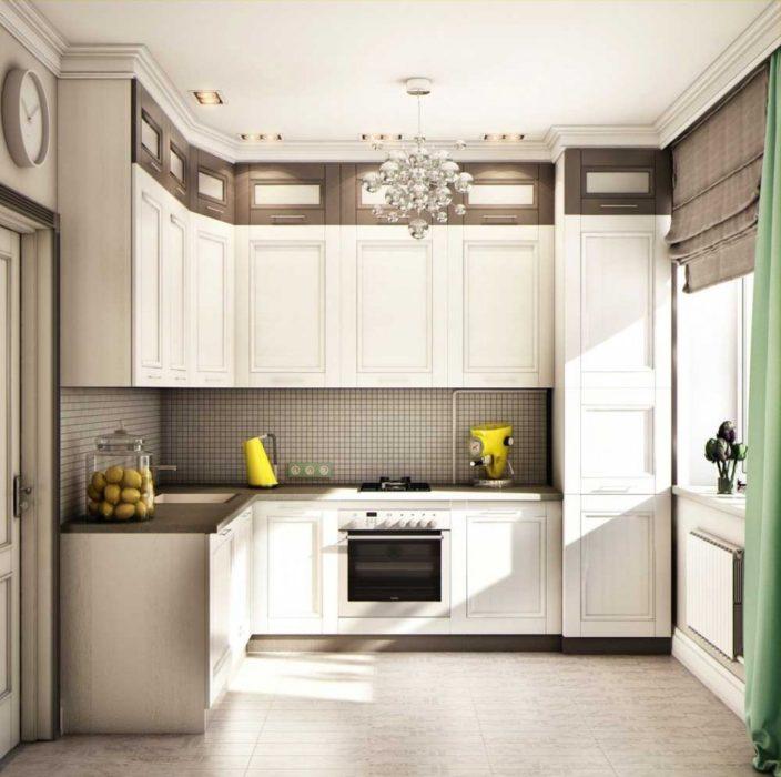 кухня дизайн фото угловые холодильником