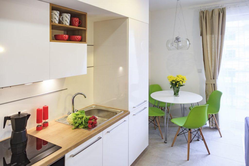 дизайн расстановки мебели кухни