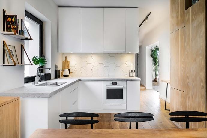 Кухонный ремонт в панельной квартире