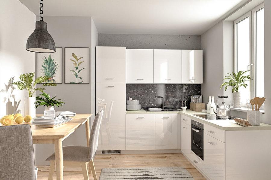 фото угловых кухонь +в квартирах