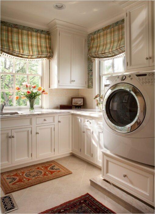 установка стиральной машины столешницу кухне