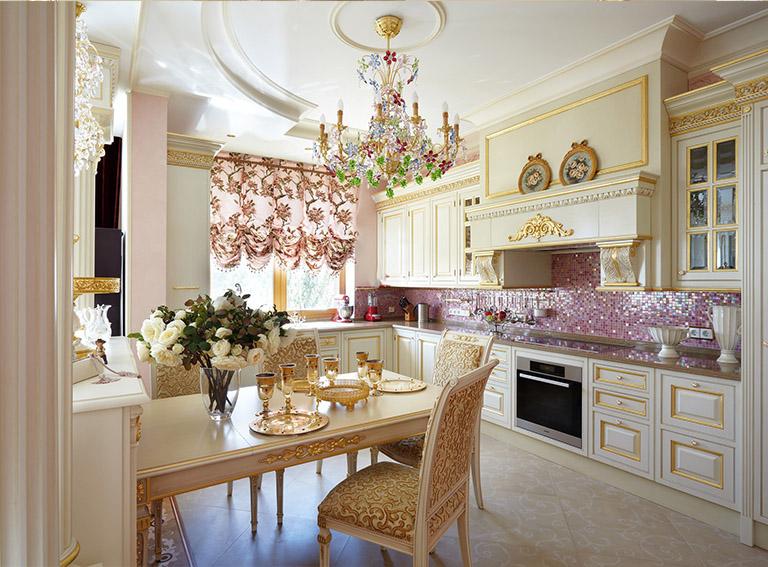 кухни барокко и рококо