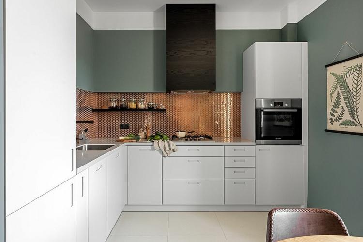 современные кухни модный интерьер дизайн фото