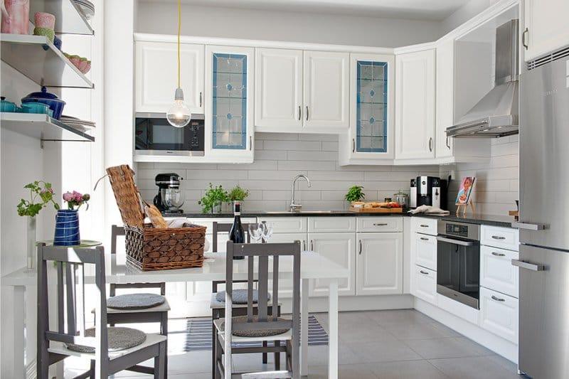 идеи угловых кухонь фото