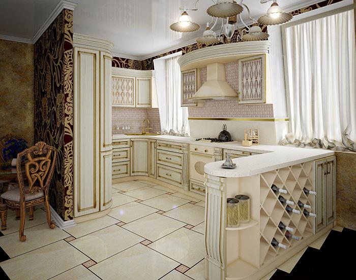 квартиры в стиле барокко