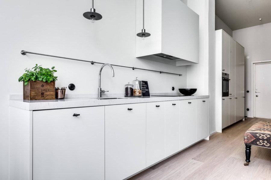 маленькая кухня дизайн минимализм