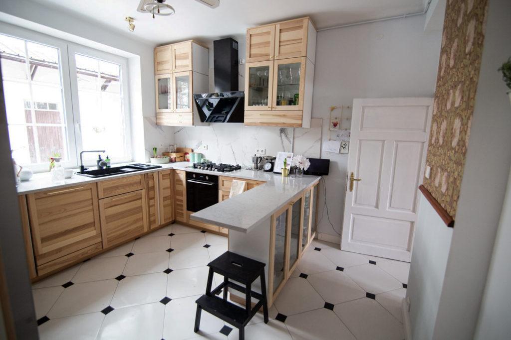 стильные маленькие кухни