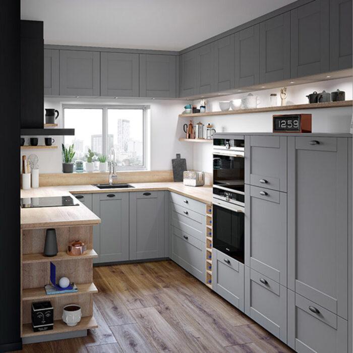 дизайн современных кухонь в частном доме фото